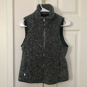 Abercrombie & Fitch Fleece Quilted Vest